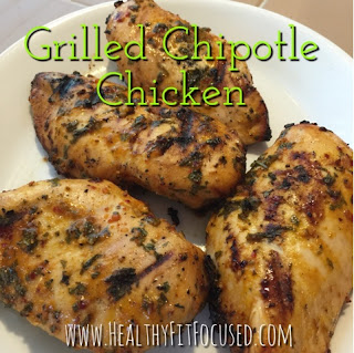 Grilled Chipotle Chicken with Cilantro Lime Quinoa, 21 Day Fix Approved Recipe, Julie Little, www.HealthyFitFocused.com