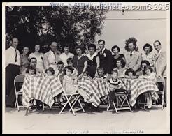 """Harold """"Norris"""" Niehaus and Betty Schmaltz - Wedding Reception - July 22, 1950"""