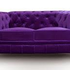 Canapé Luxe violet