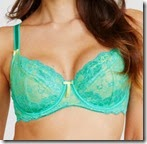Pour Moi Underwired Green Bra