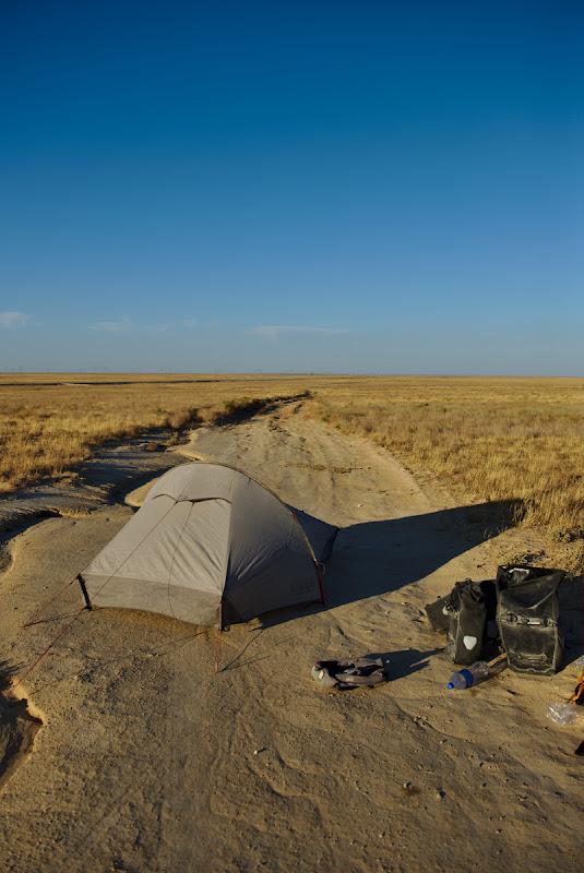 Din nou in mijlocul desertului.