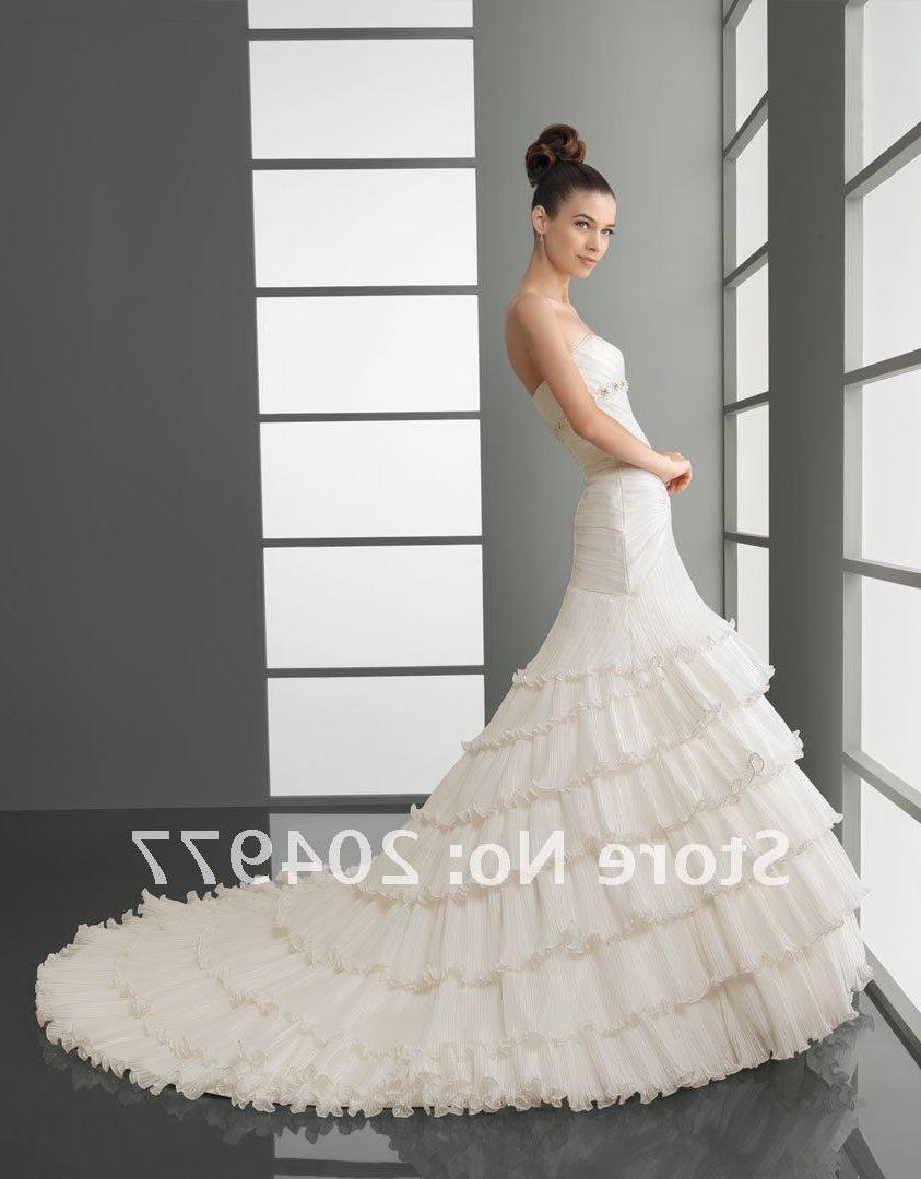Free Shipping AA-68 Ruffle Organza Wedding Dress 2012_168.jpg
