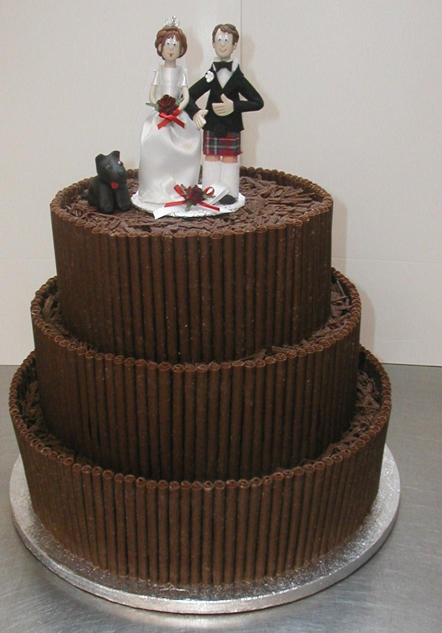 amazing guys wedding cake