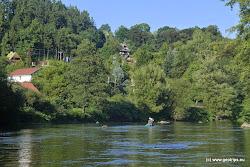 Chatová osada a vesnička U Mostu.