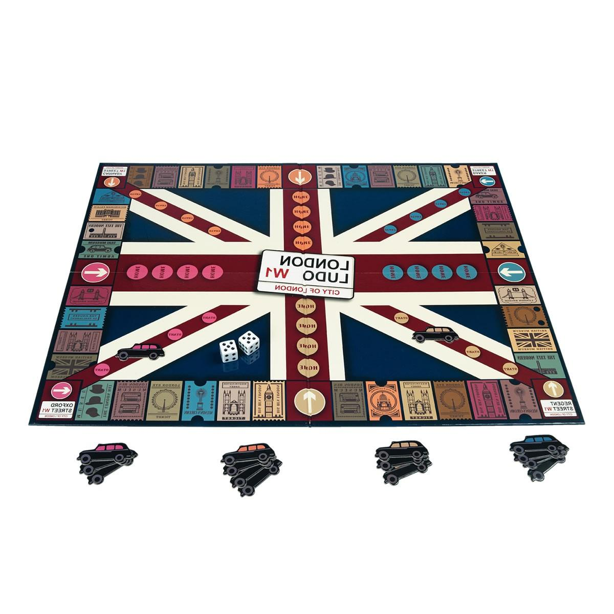 Taxi Ludo Board Game