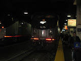 The Amtrak train we rode from Champaign to Chicago 01142012a