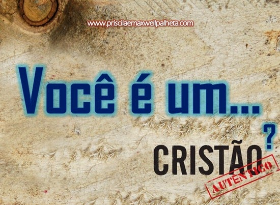cristão autentico - Priscila e Maxwell Palheta