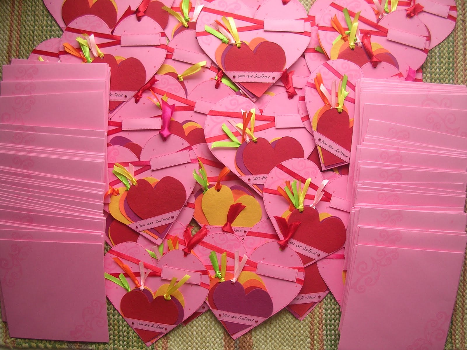 Princess\'s blog: Wedding invitations handmade