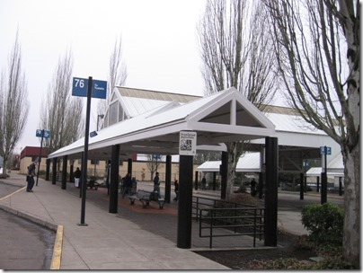 IMG_5394 Tigard Transit Center in Tigard, Oregon on January 30, 2009