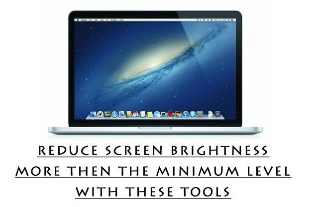 screen brightness reduction tools windows and mac