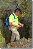 Andy at Daimes cave 2