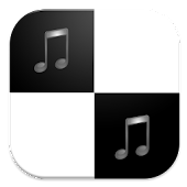 Free Download Piano Black Keyboard Tap APK for Samsung