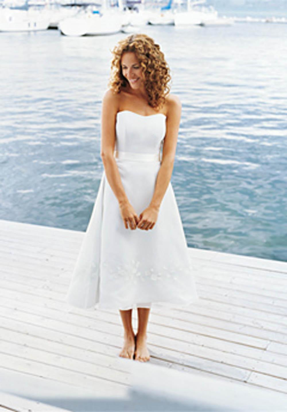 Wedding Dresses For Casual Wedding : Hilary s casual beach wedding gowns