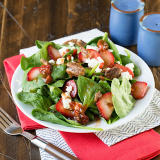 Spinach Strawberry Feta Salad Recipes
