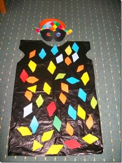 disfraz de arlequin con bolsa de basura (1)