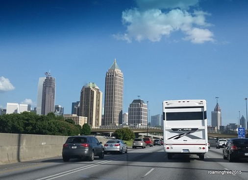 Making our way through Atlanta