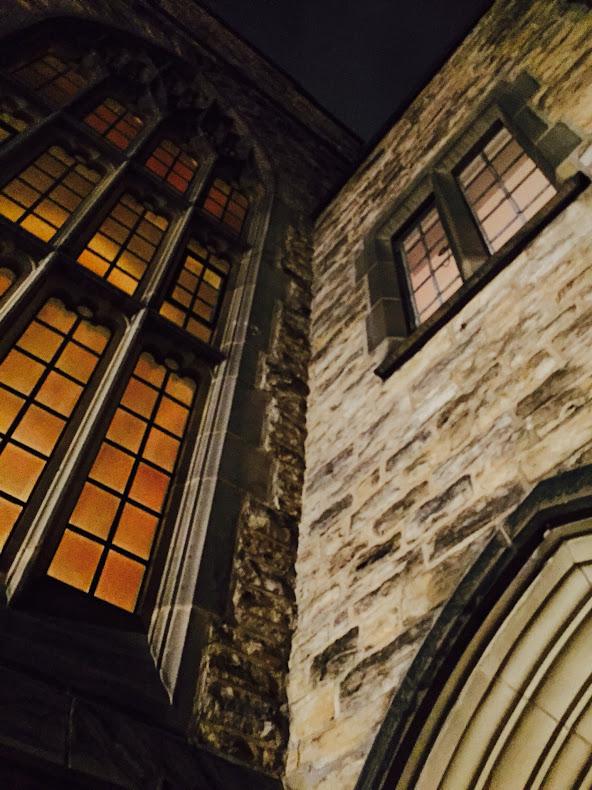 Stone detail, Knox Presbyterian church, Ottawa, Canada