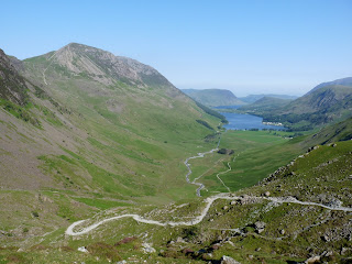 A superb view of the Buttermere valley.
