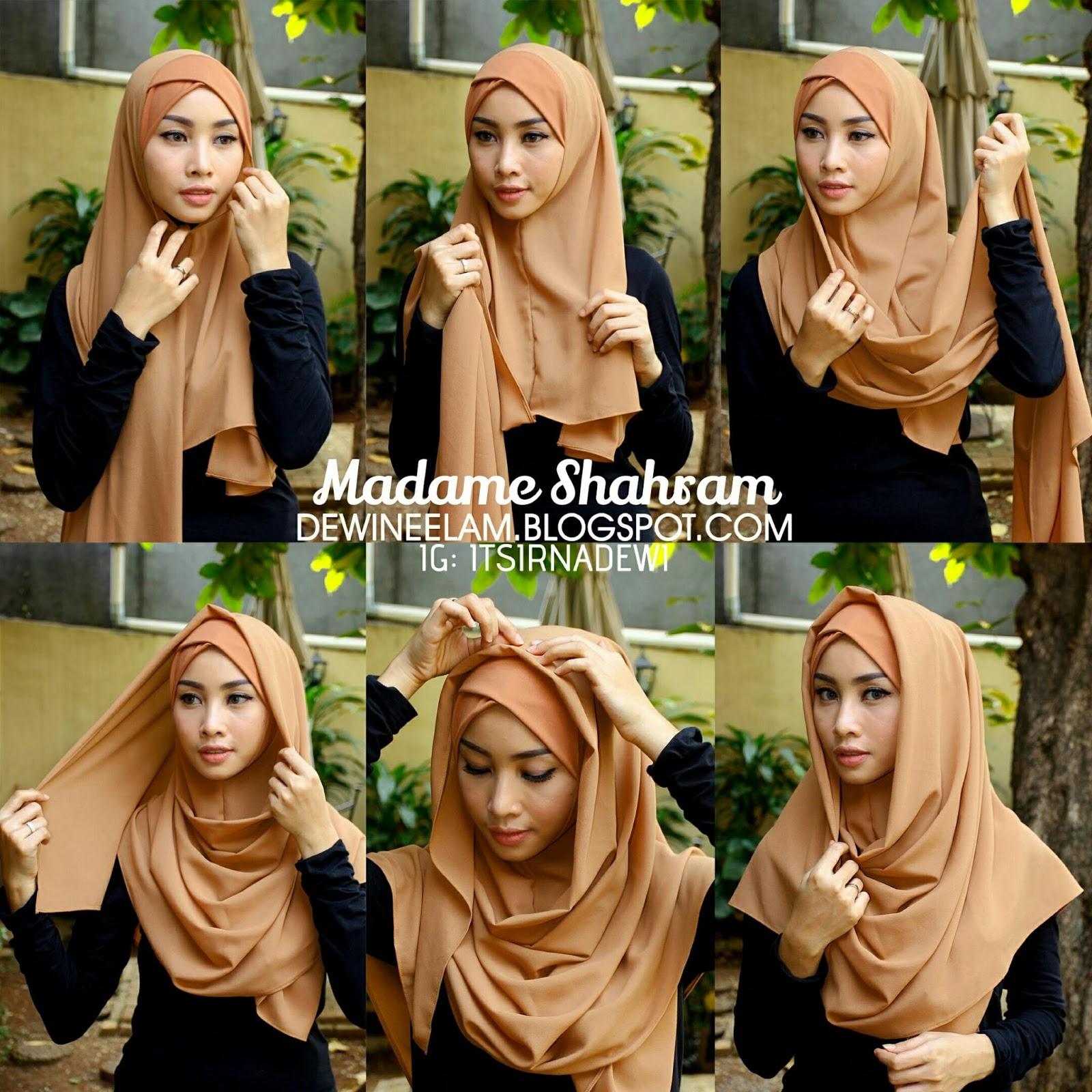 27 Gambar Lengkap Instagram Tutorial Hijab Pesta Paling Fenomenal