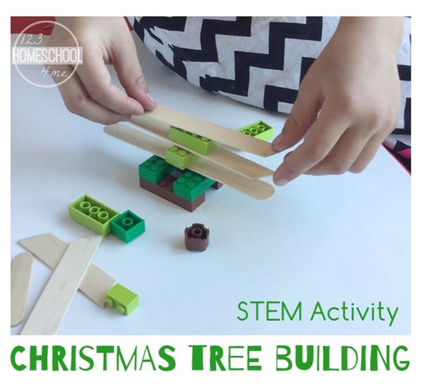 Stem Activity - Christmas Tree Building