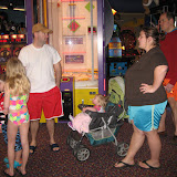 Hanging out in the arcade at Kalahari Water Park hotel in OH 02192012