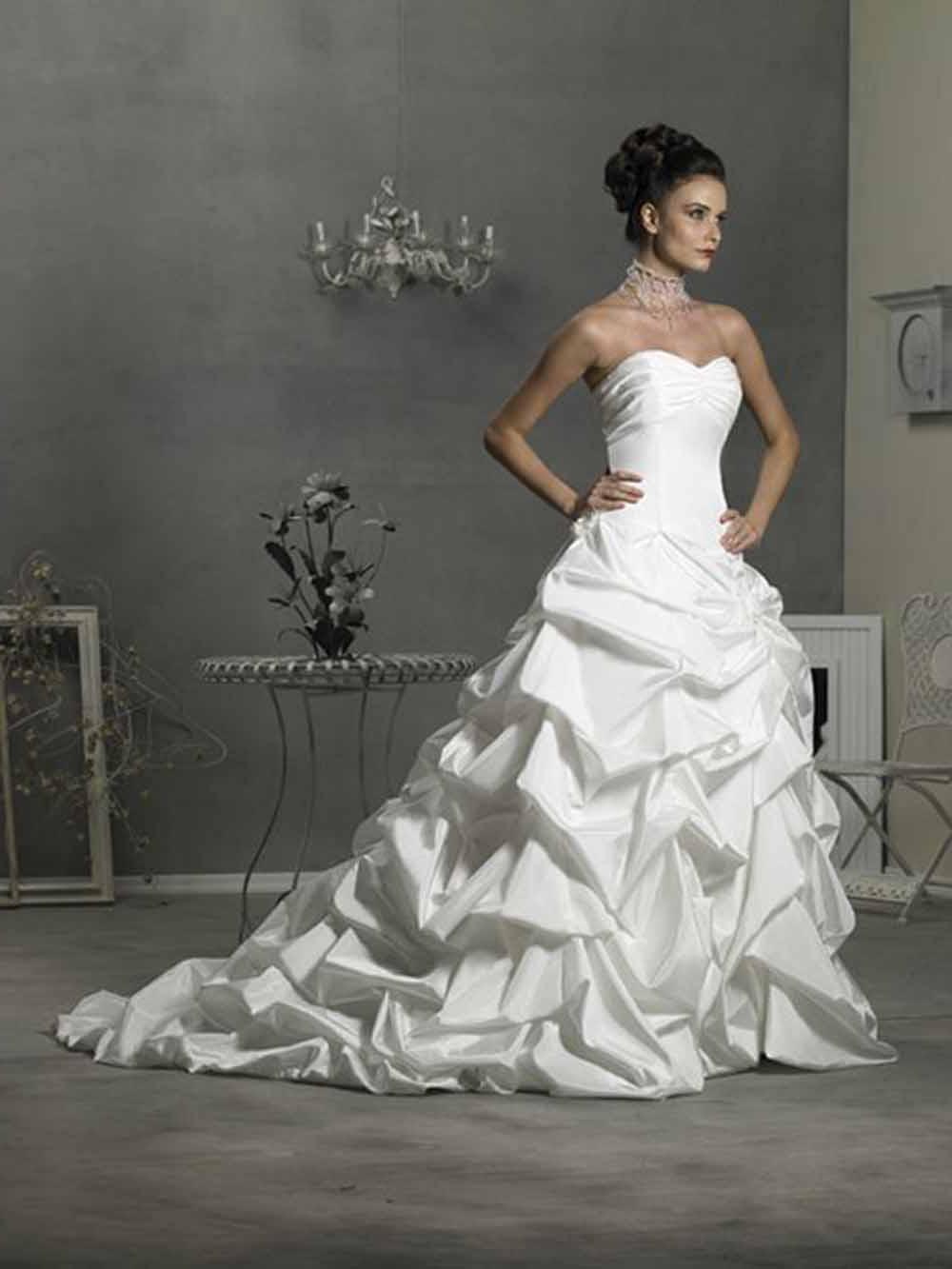 Platinum Wedding Gowns are