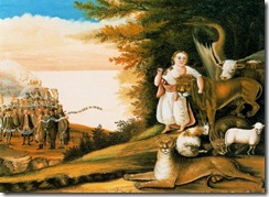 Edward Hicks - The Peaceable Kingdom 23