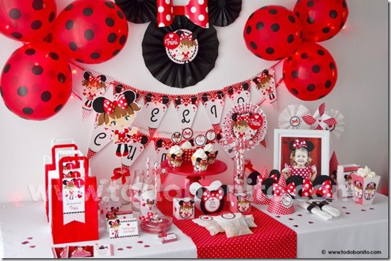 fiesta cumpleaños minnie decoracion (2)