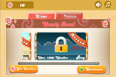 Candy Hill - screenshot