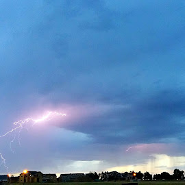 Fresh Lightning by Leif Anderson - Instagram & Mobile Android ( co, lightning, 2016, colorado, horizon, july, johnstown )