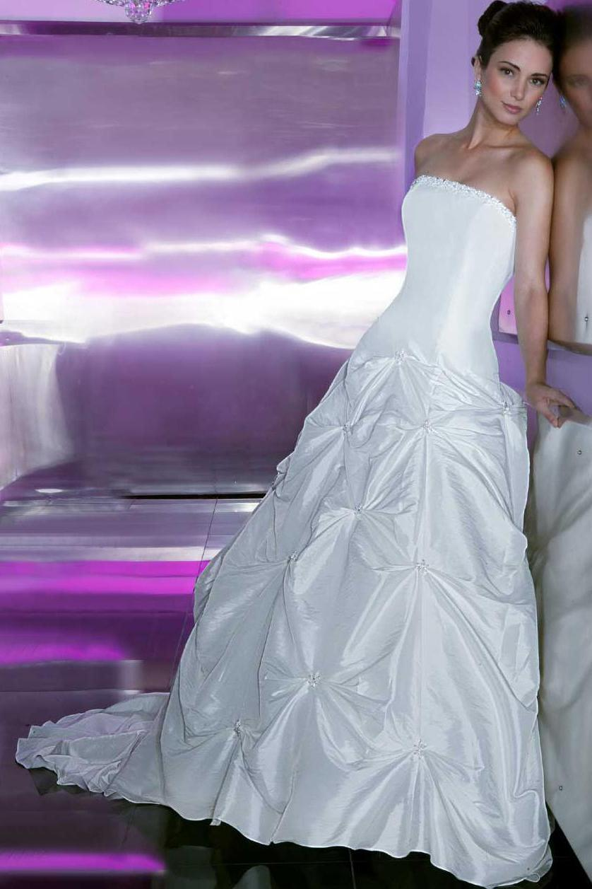 A-Line 2012 Wedding Gown