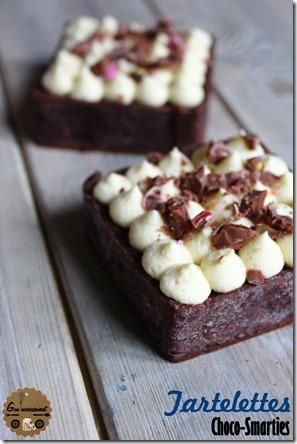 Tartelettes Choco-Smarties 1