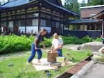 Tradycyjny sposób robienia pasty miso.