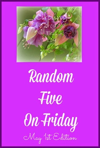 May 1st Edition of Random Five from Circling Through This Life