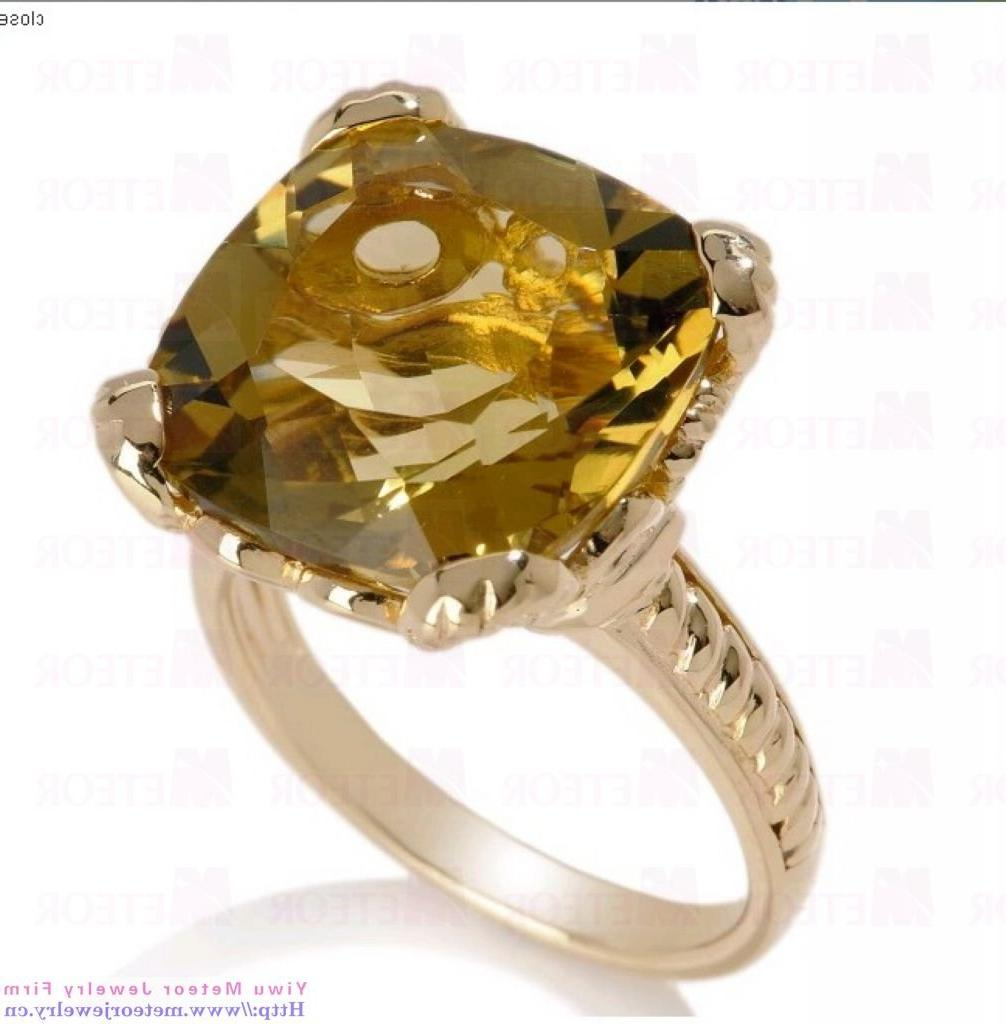 Citrine & Chocolate Diamond