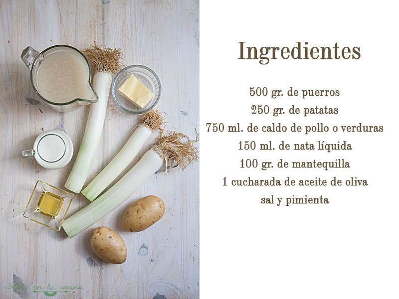 vichyssoise-ingredientes
