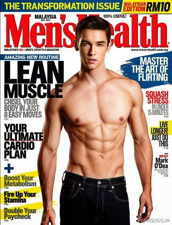 Mark O'Dea Men's Health Malaysia May 2015