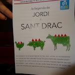Abril 2015 - La llegenda de Jordi i Sant Drac