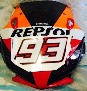 CBR1000RR Marc Marquez Decal Official Honda 93