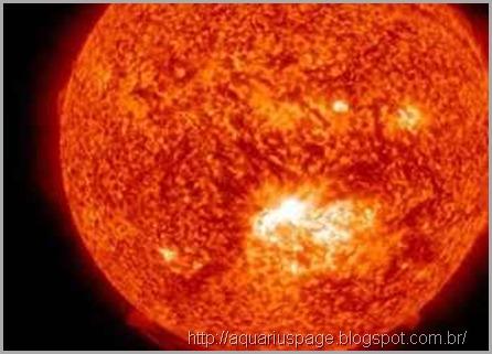 Tempestade Solar Atingiu Terra