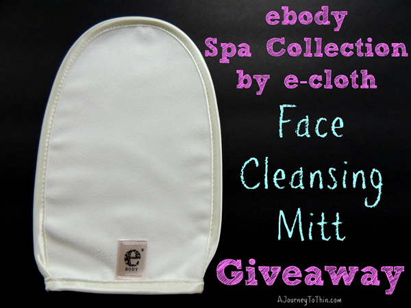 ebody spa collection by e-cloth face cleaning mitt review and giveaway