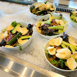 salads at Dutch National Military Museum Soesterberg in Soest, Utrecht, Netherlands