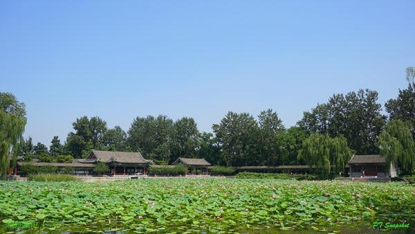 耕织图位于颐和园西北部