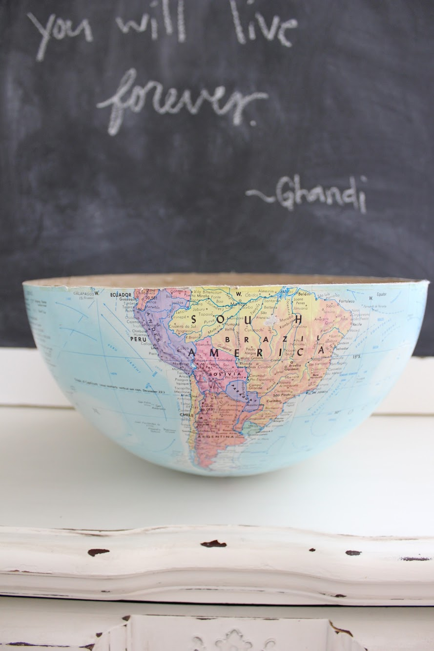 cool globe projects and updating my etsy shop