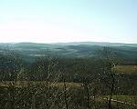 Mountains in Western Maryland, Garrett County.