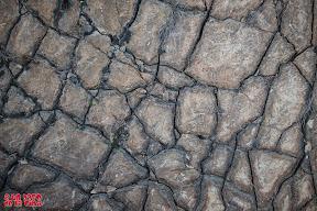 Curiosa formación geológica. © aunpasodelacima