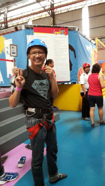 EnerZ Indoor Extreme Park @USJ - Rock Climbing