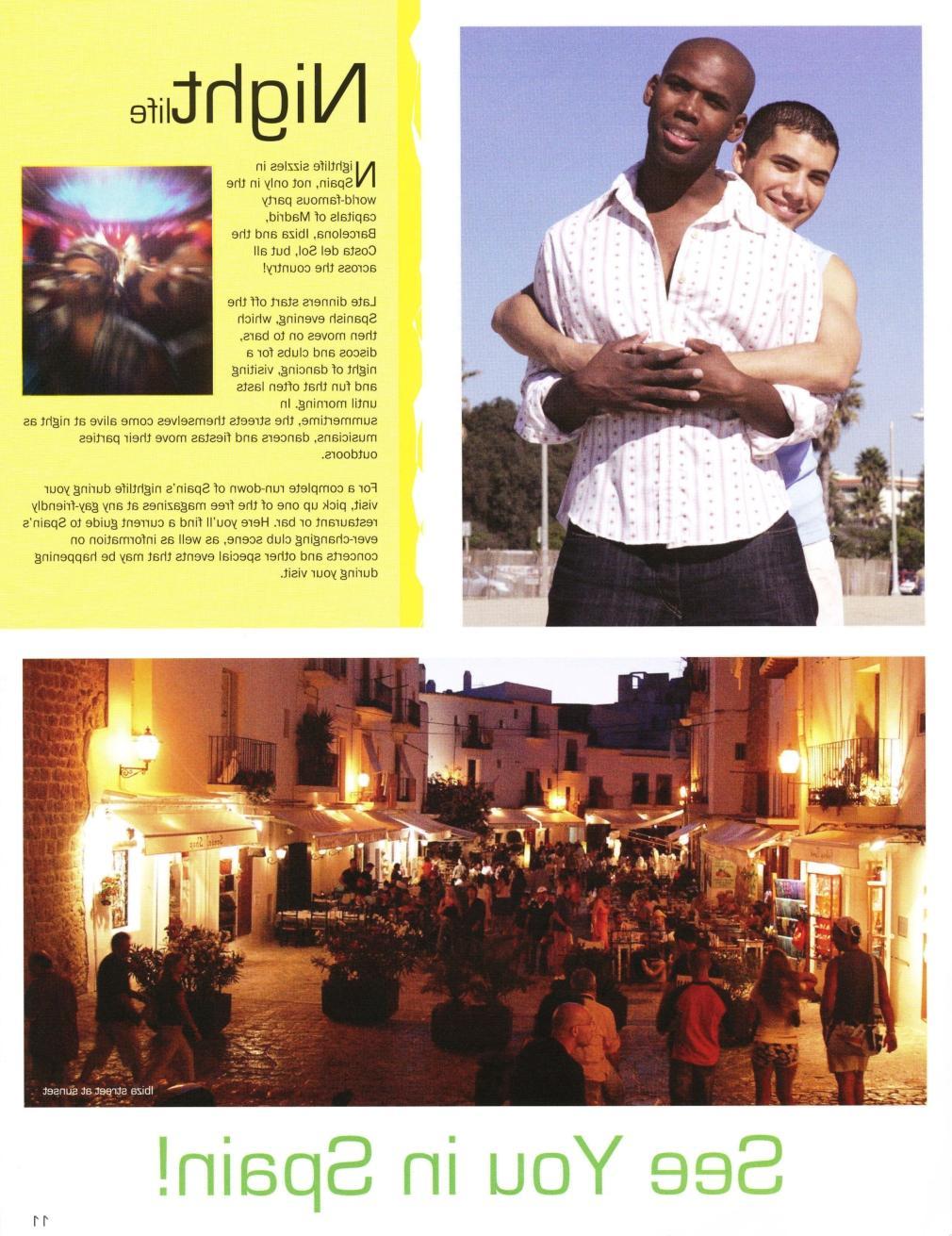 gay spain brochure   2005