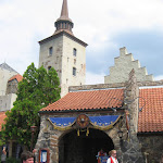 The front of the Akershus restaurant in Norway in Epcot where the kids had lunch with the princesses 06072011