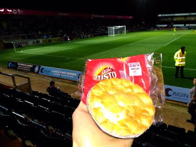 Wycombe football pie